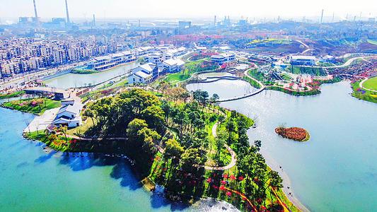 南京江北桃湖公园